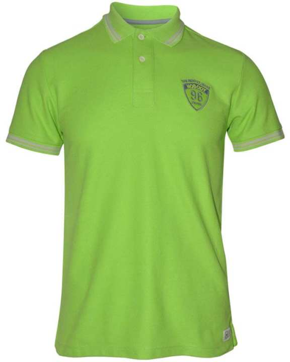 NOBODY Men's Wear Polo Shirt - Light Green