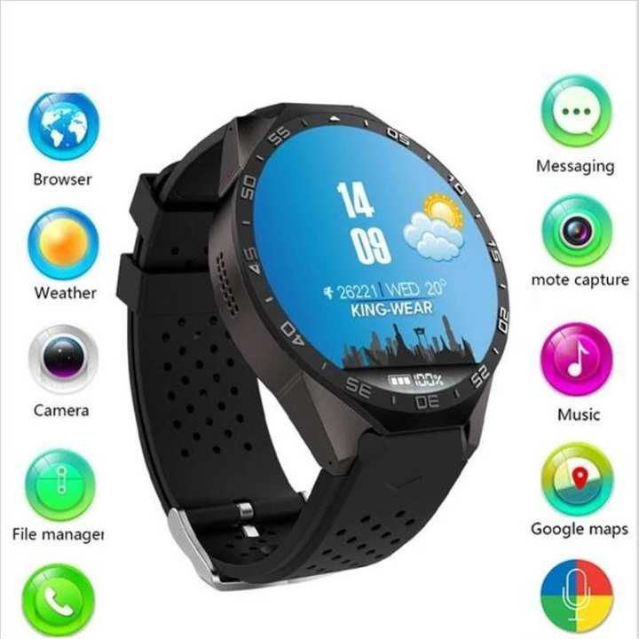 Kingwear KW 88 Smart Watch Android 5.1 3G