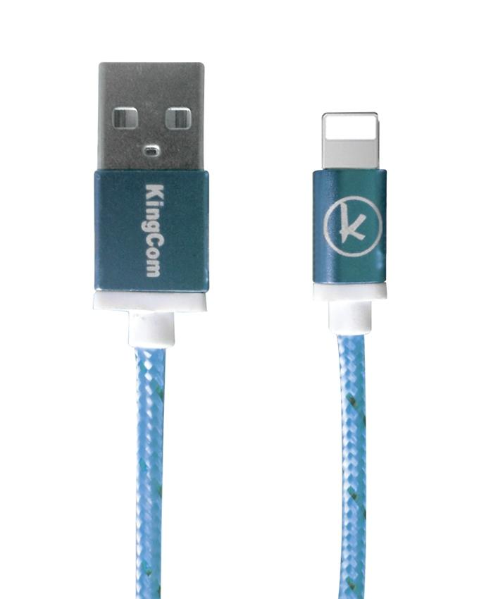 KingCom Cable for iphone 5 Kable T1_Blue