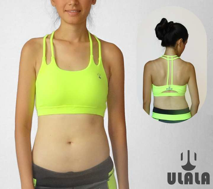 ULALA Ballerina Sports Bra (Lime Green)