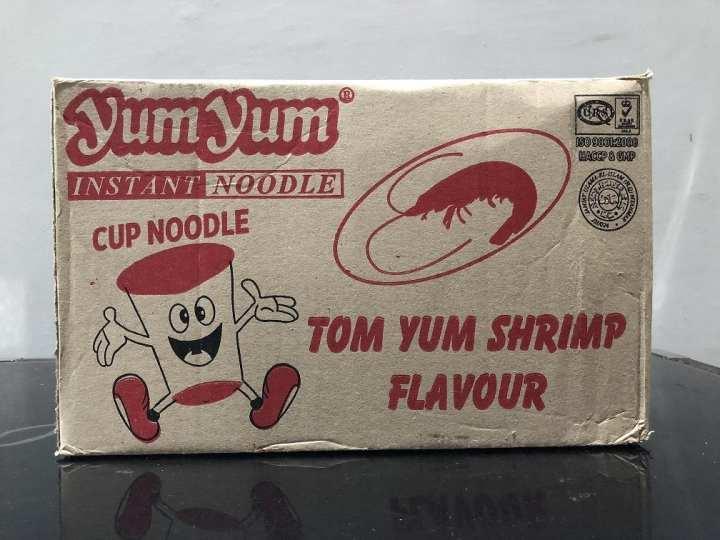 Yum Yum Noodle Cup Tom Yum Shrimp/Tom Yum Kung Creamy Flavou