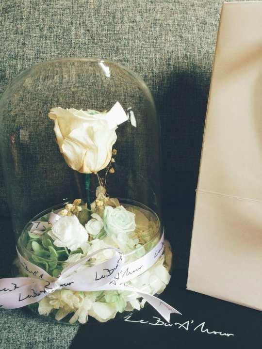 Le Bu A'mour Romeo & Juliet White Rose (L)