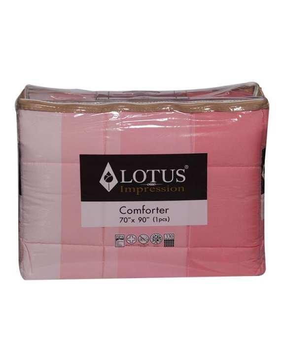 "LOTUS Impression Comforter (70""x90"") - 1 pcs."
