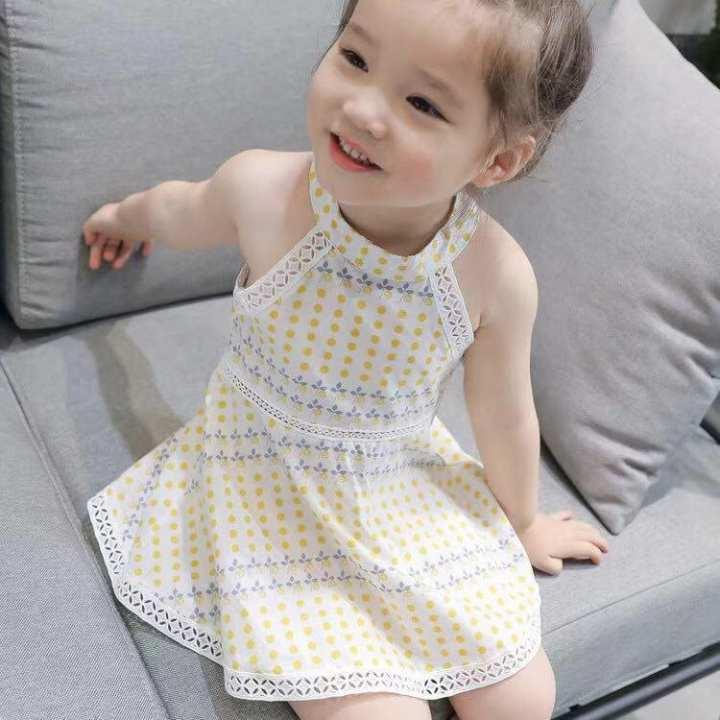 Premium-Stylish Cute Girl Dress ( Sleeveless)