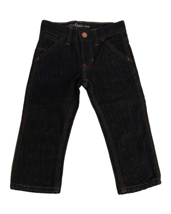 Line Leader Baby Pants - Black