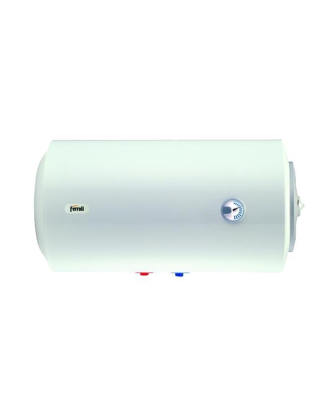 FERROLI Storage Water Heater - E-GLASSTECH SERIES(Horizontal) - 100LT