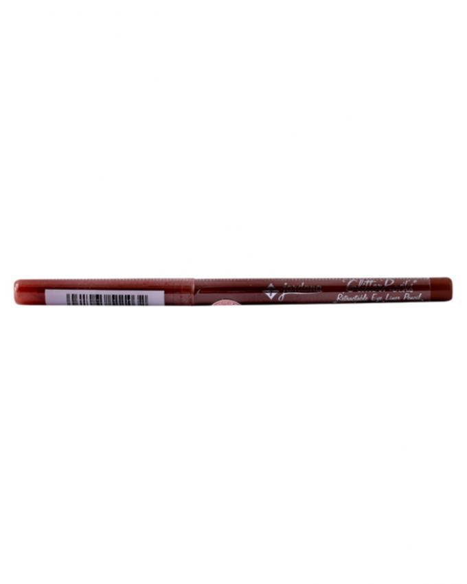 Jordana Glitter Rocks Retractable Eyeliner Pencil - Rockabilly Brown