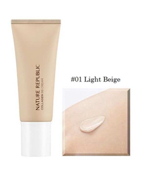 Nature Republic Nature Origin Collagen BB SPF 25/PA++ (45g) - 01