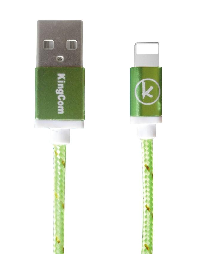 KingCom Cable for iphone 5 Kable T1_Green