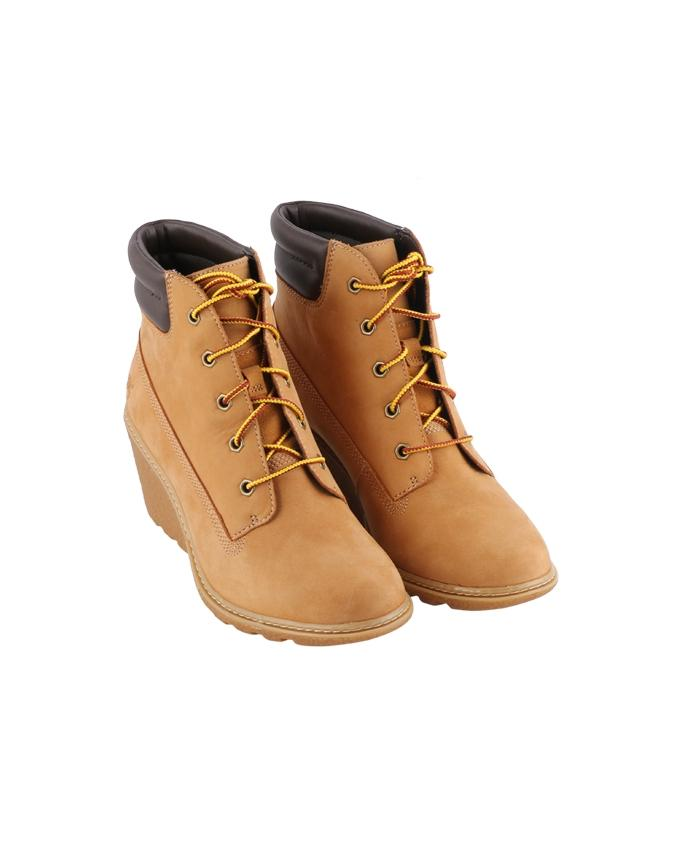 Timberland Women s Wedge Boots - Wheat Nubuck 82cb754acc