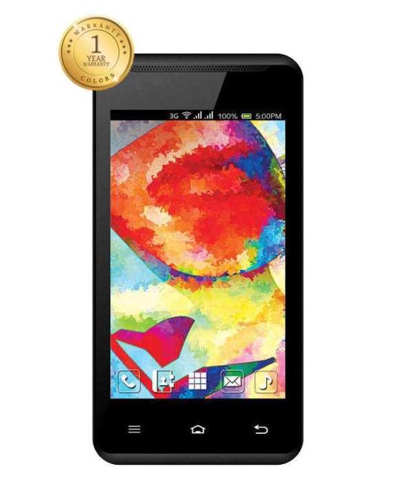 COLORS X47 (3G) Dual Sim – Black