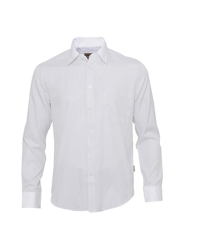Casablanca Men's Wear Shirt Long Sleeve -White
