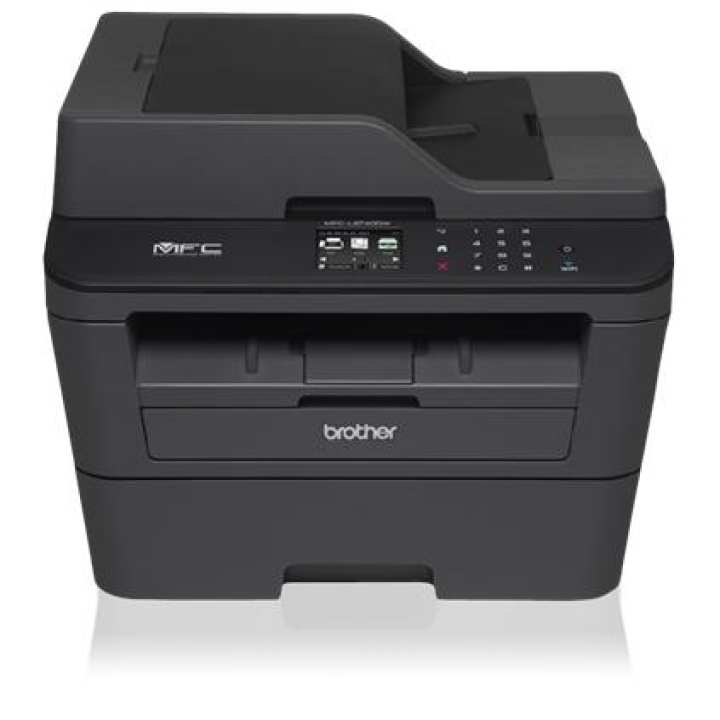 Brother MFC-L2740DW Compact Laser All-in-One with Wireless Networking and Advanced Duplex