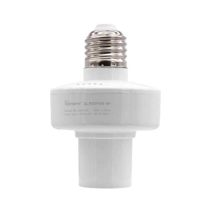 Sonoff Slampher - RF & WiFi Smart Light Bulb Holder