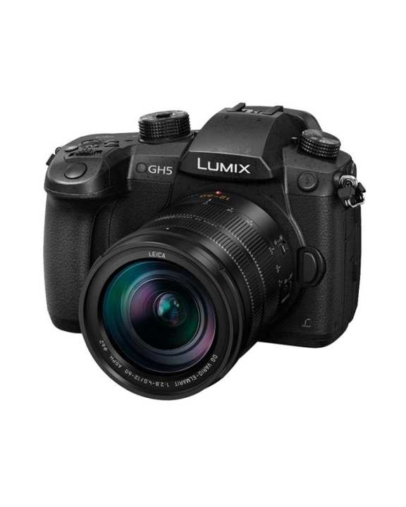 Panasonic DC-GH5 LUMIX Digital Single Lens Mirrorless Camera (12-60mm)