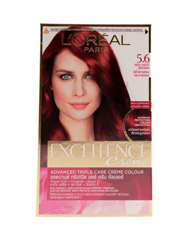 Excellence Fashion Sparkling Visible Color - 5.6 (Red Light Brown)
