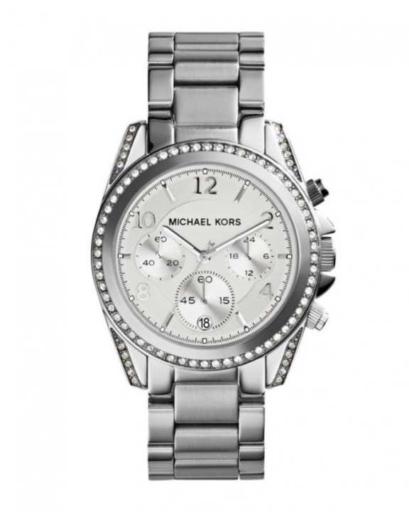 Michael Kors MK5165 Blair Chronograph Watch - Silver