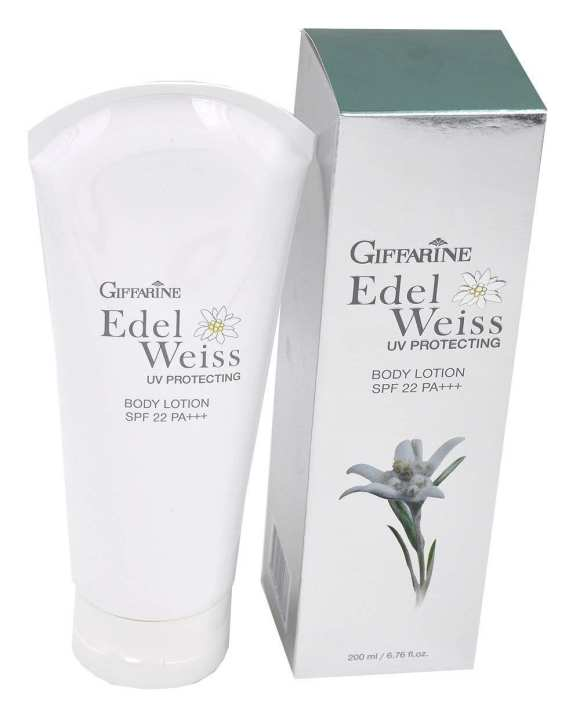 Edelweiss UV Protecting Body Lotion SPF 22PA+++