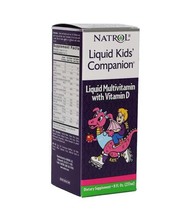 Natrol Liquid Kid's Companion - 237ml
