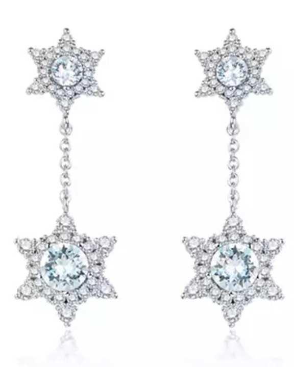Swarovski Crystal drop earrings - Cry (001)
