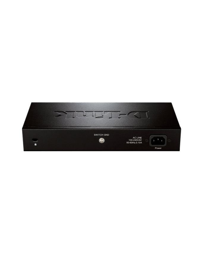 D-Link 24-port 10/100Mbps Unmanaged Switch (Metal, Rackmount)