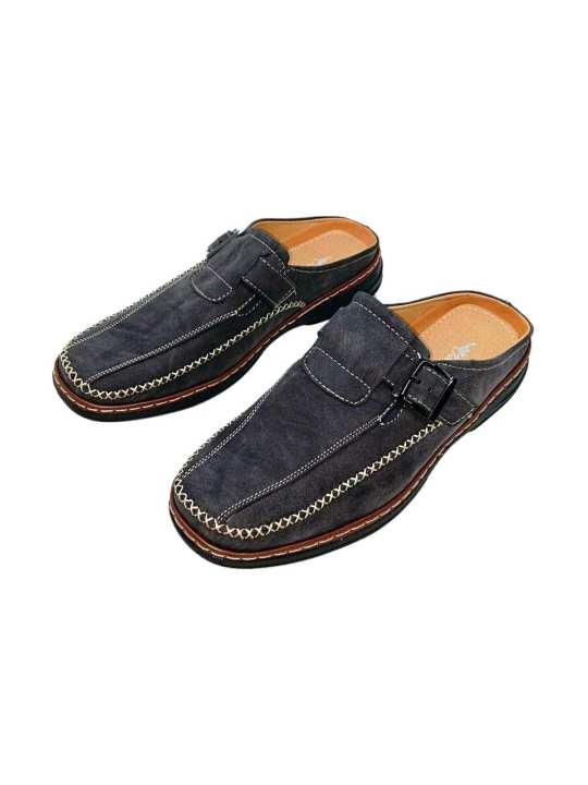Kangaroo Men's Leather Formal Slip On Shoe