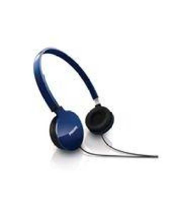 Philips SHL1700 Lightweight Headphones - Blue