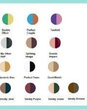 Jordana Colour Effect Eyeshadow Duo (Perfect Couple)