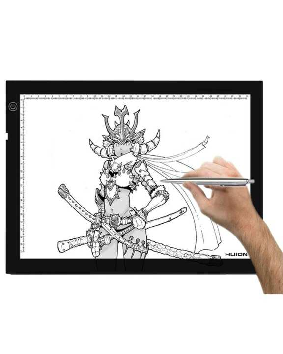 HUION A4- LED Grahic Drawing Light Pad - black