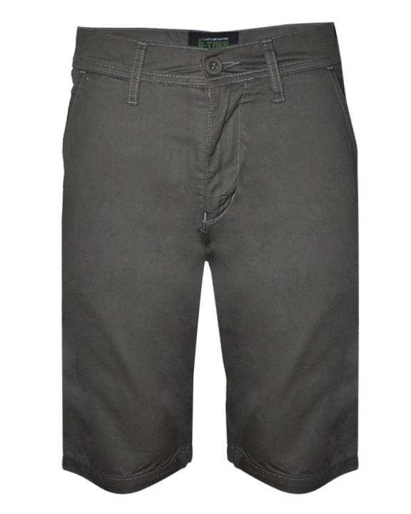 G-TREE Men Pants Bermuda-2 Quarter-Grey
