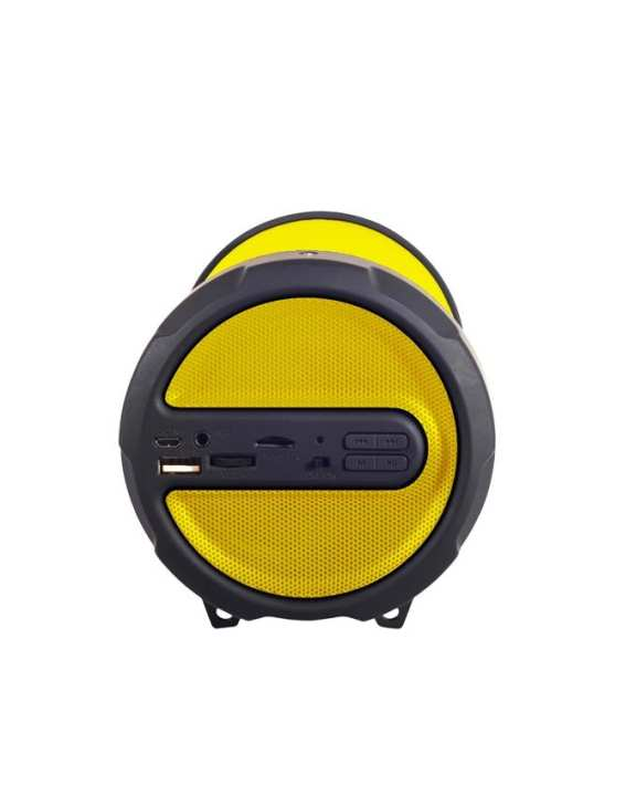 KingCom KBOX S1 Bluetooth Speaker - Yellow + Free Gifts