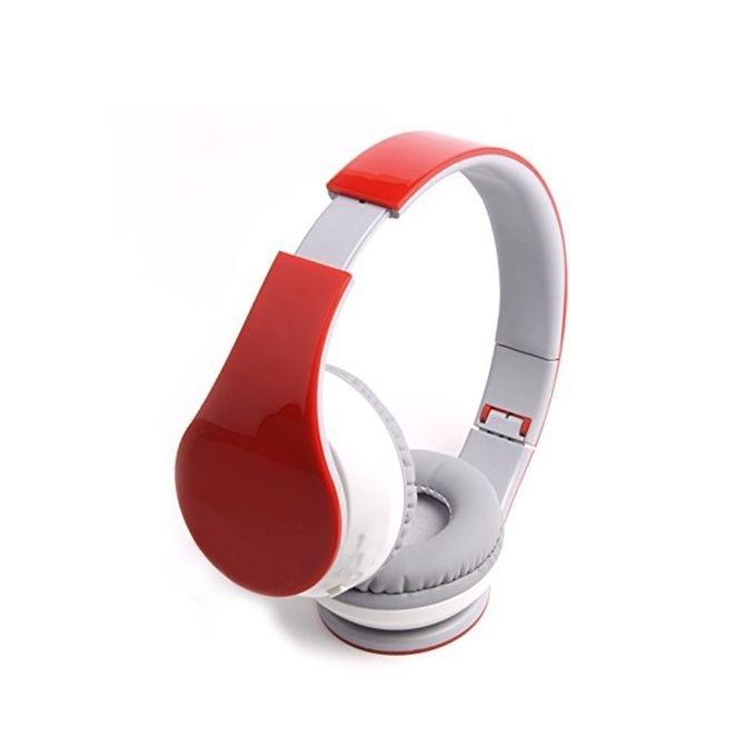 Crown Online Shop Bluetooth Headphone - Red