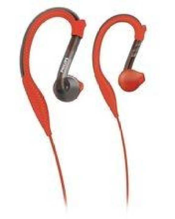 Philips SHQ2200 Sports in-ear Headphones - Red