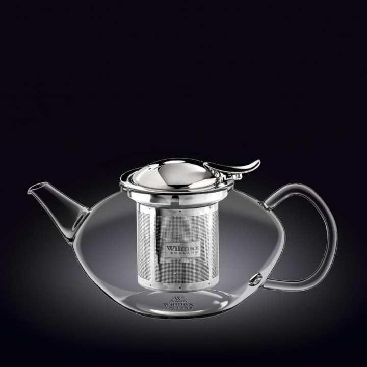 Wilmax Thermo Glass Tea Pot 37 OZ / 1100 ML