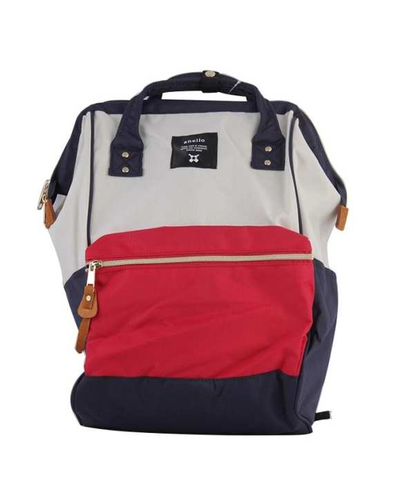 ANELLO Mouthpiece Polyester Canvas Backpack – F