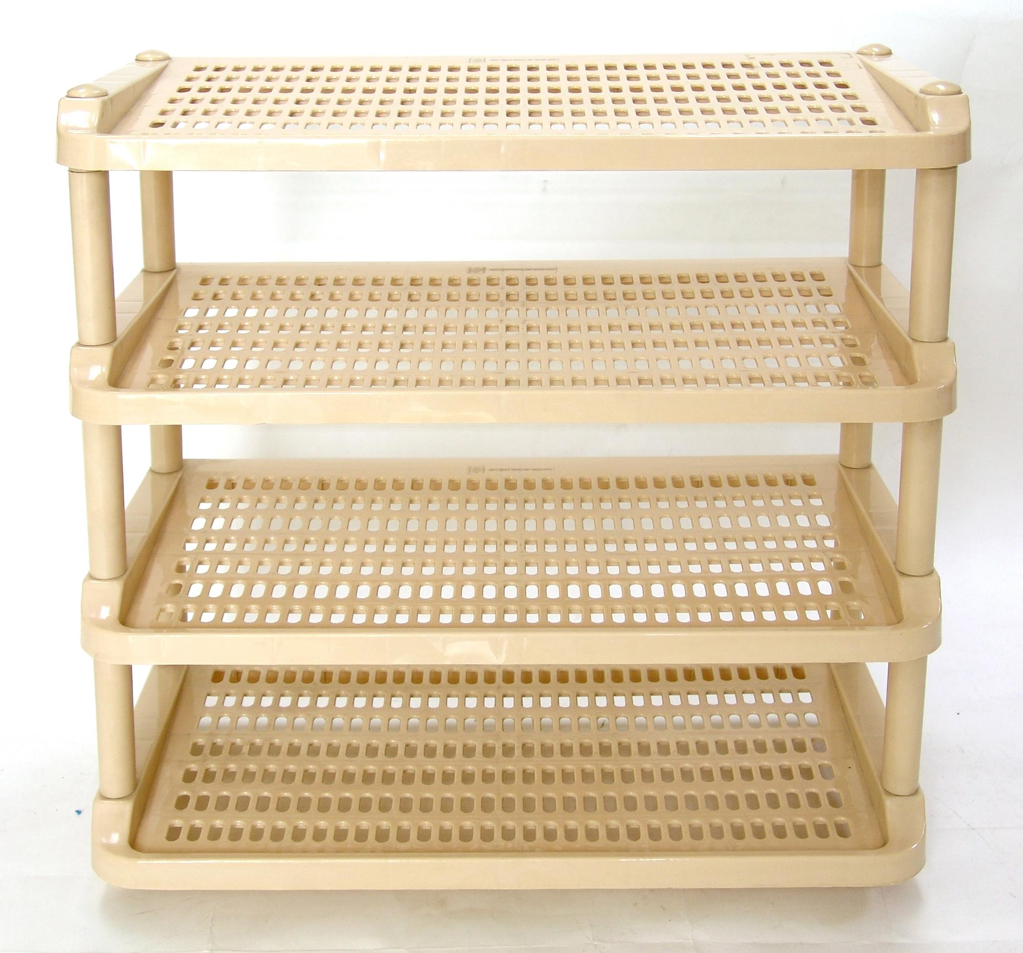 New World 4 Tier Shoe rack