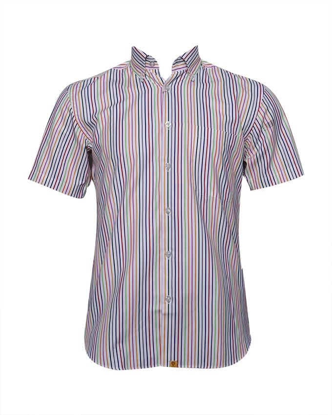 Able Men's Short Sleeve - Rainbow