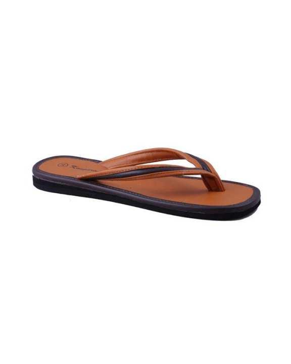 Kangaroo Monk's Slippers – Brown