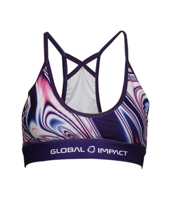 Global Impact Women's Sport Bra - Multi