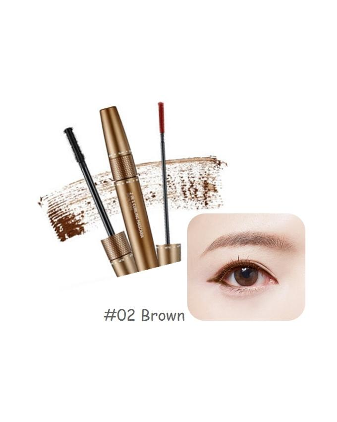 The Face Shop 2 In 1 Curling Marvle  Mascara (8.5g)