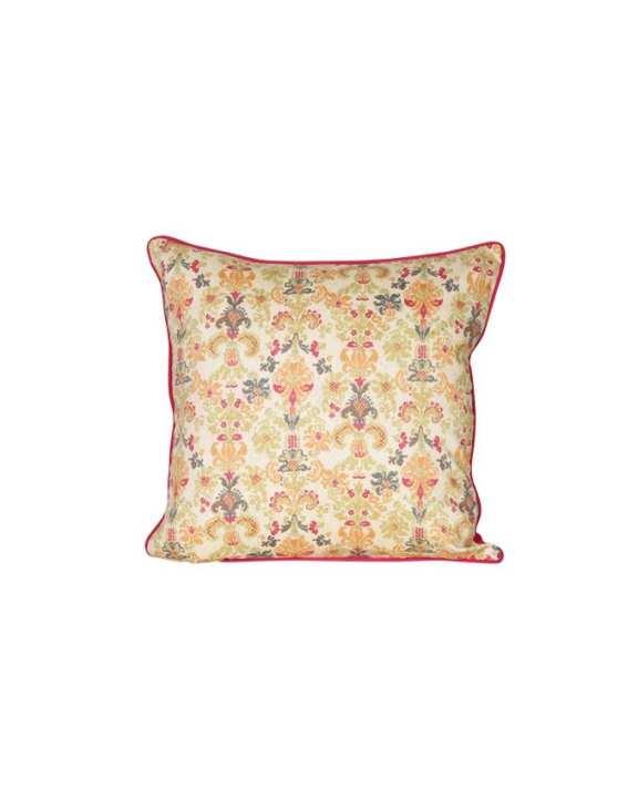 "Beige Beauty Cushion Cover (16""X16"")"