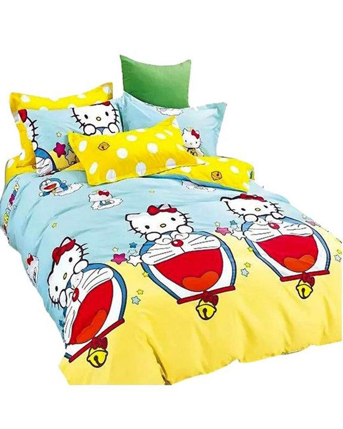 The Gift Bedding The Gift 4 Pieces Double Fitted with Quilt Cover (MS 50207)