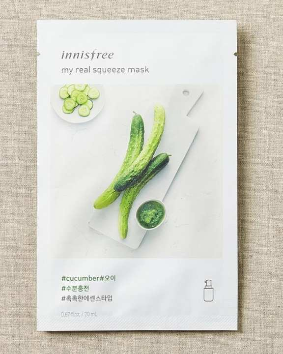 Innisfree My Real Squeeze Mask - Cucumber (20ml)
