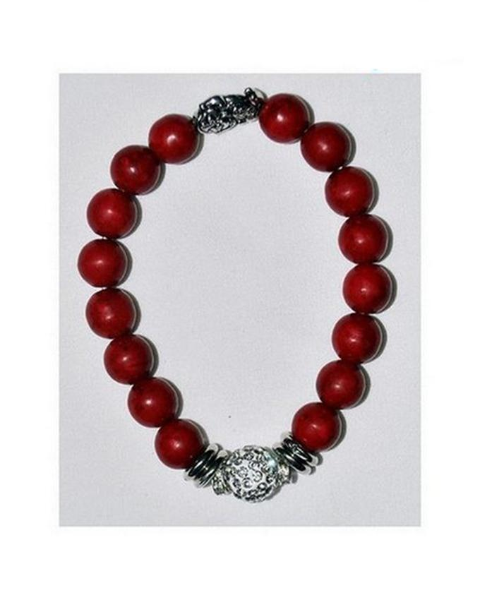 November Angel Coral Bracelet With Diamond And Doll