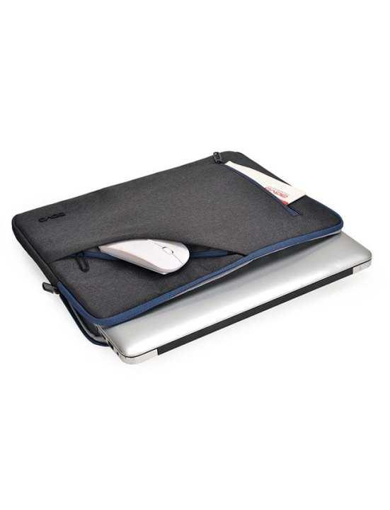 Urban Denim Classic Black MacBook / Laptop Sleeve Bag - AGVA