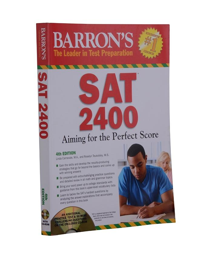 Monument Barron's SAT 2400: Aiming for the Perfect Score