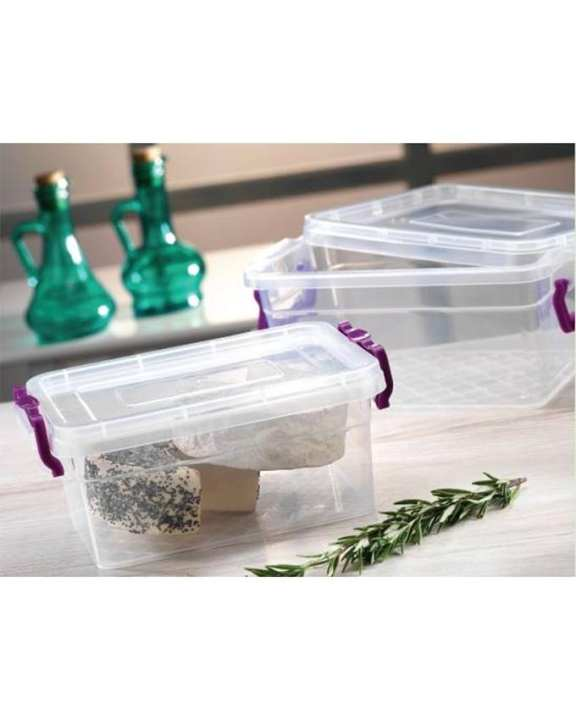 Asude Plastic Plastic Box With Cover - 7.5 Liter