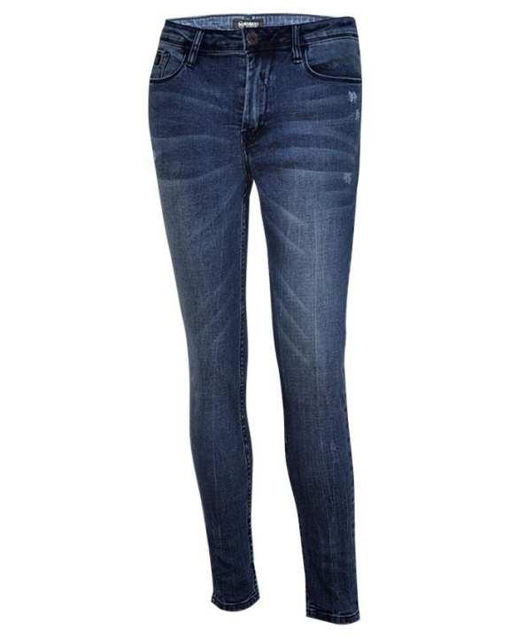 NOBODY Lady Long Pants-Skinny-Blue
