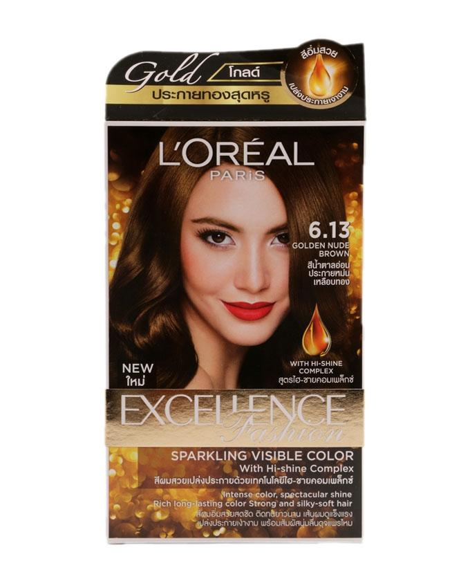 Excellence Fashion Sparkling Visible Color - 6.13 (Golden Nude Brown)