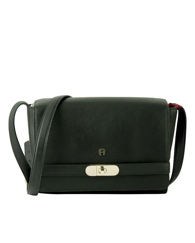 Aigner Women's Shoulder Bag - Black